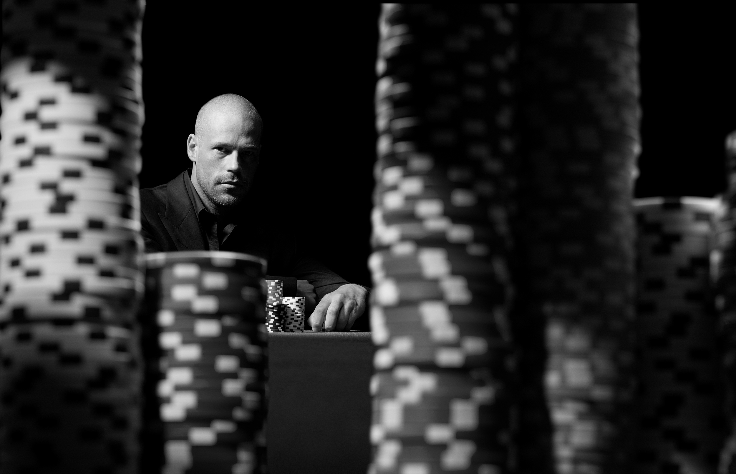 Patrik Antonius for Full Tilt Poker / Photographer: ©Joel Lipton