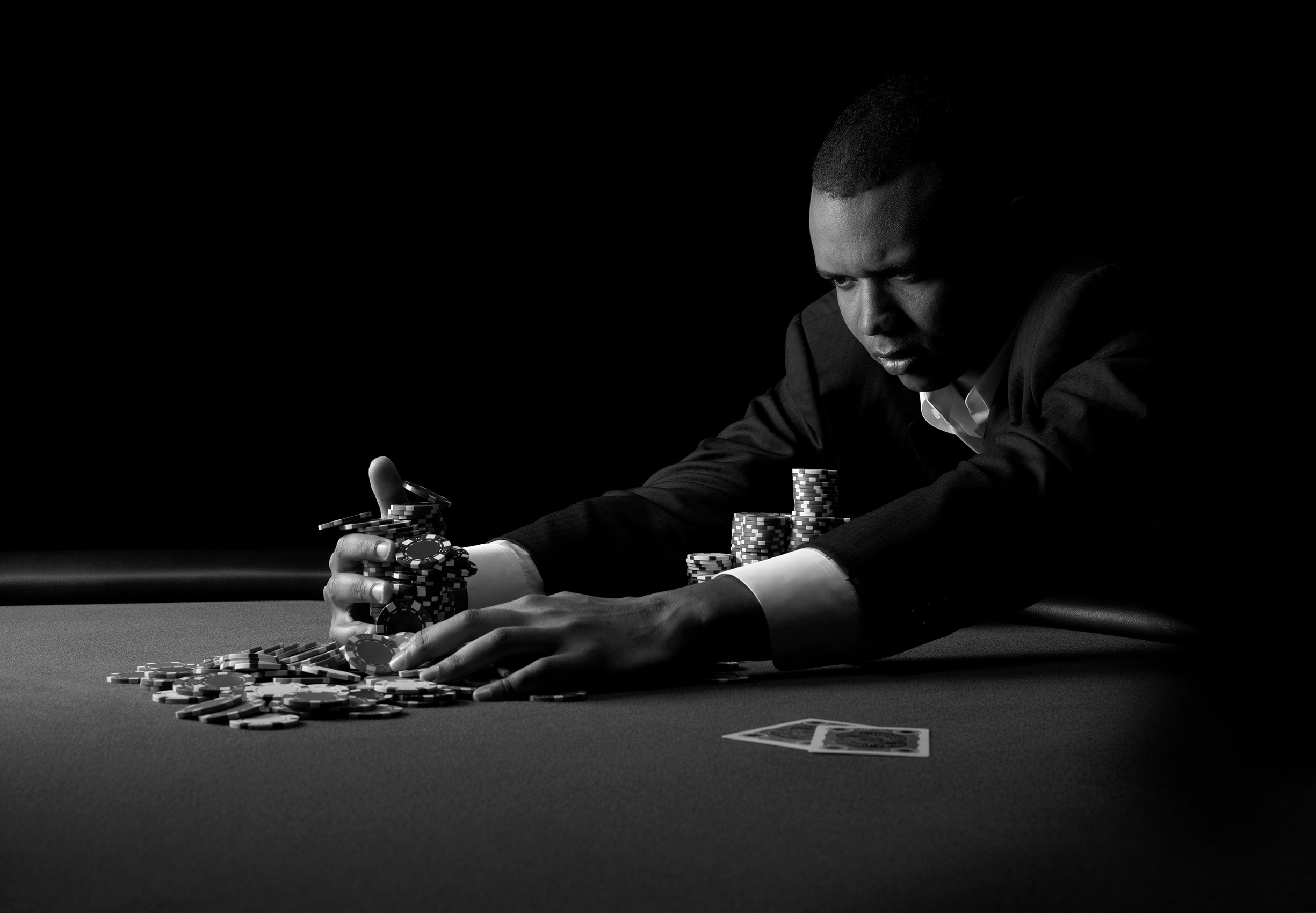 Phil Ivey for Full Tilt Poker / Photographer: ©Joel Lipton