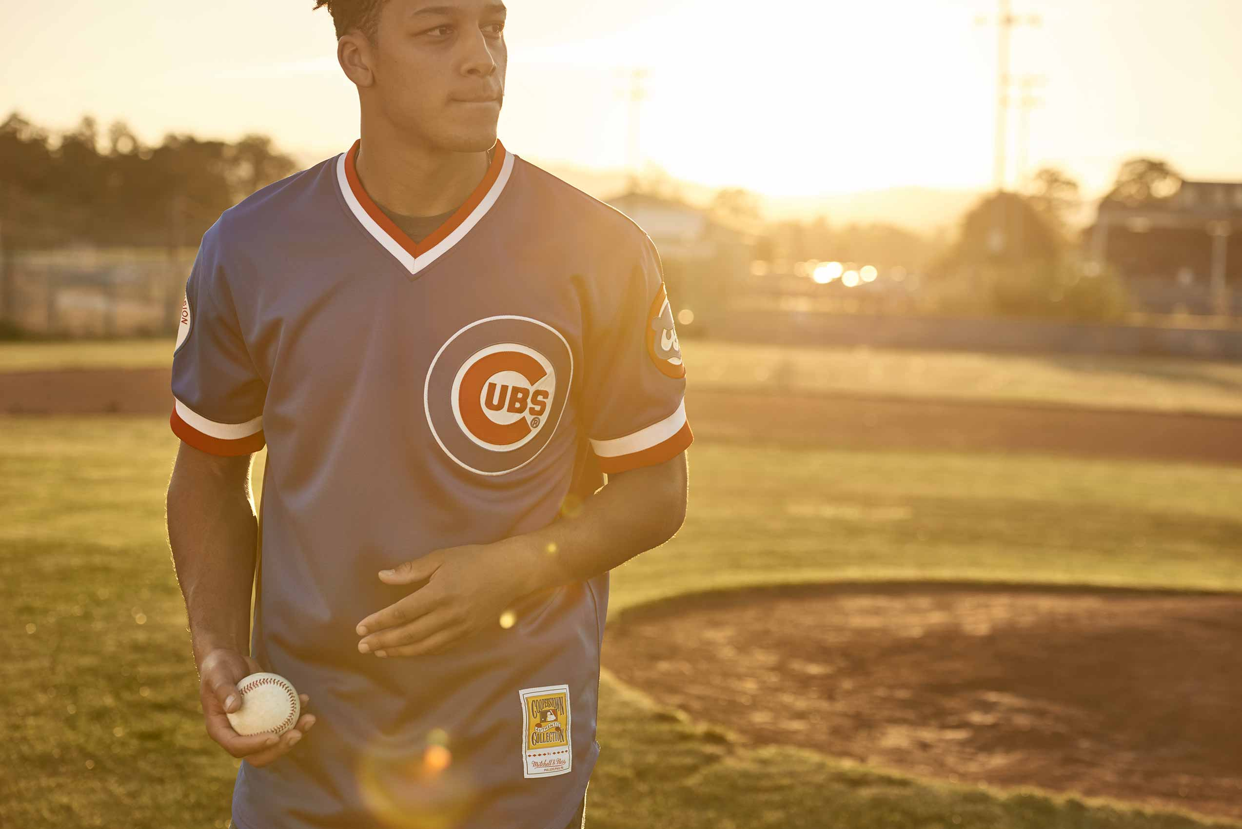 Mitchell & Ness Lookbook / Agency:  Fiction